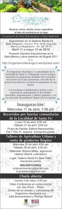 Invitación OI 2012 GSF x
